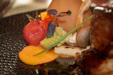 Boschvijver vlees groente